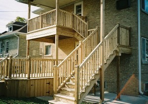 Cedar Deck and Stair Contractor in Niles