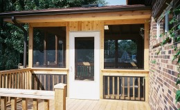 Custom Cedar Screen Rooms in Niles