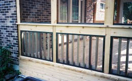 Custom Cedar Screen Rooms in Des Plaines