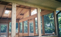 Custom Cedar Screen Rooms in Morton Grove