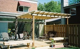 Cedar Pergola Contractor in Morton Grove