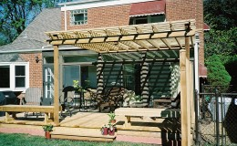 Cedar Pergola Contractor in Des Plaines