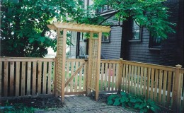 Cedar Pergola Contractor in Chicago