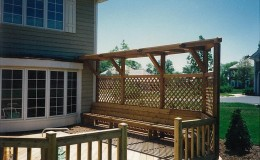 Custom Cedar Wood Pergolas in Barrington
