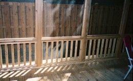 Custom Cedar Screen Rooms in Arlington Heights