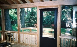Custom Cedar Screen Rooms in Barrington