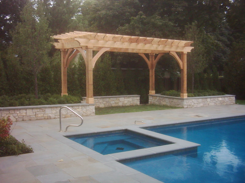 pergolas and trellis