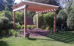 Custom Cedar Wood Pergolas in Des Plaines