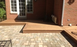 Custom Ipe Decks in Wilmette