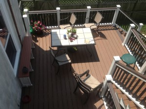 Custom Trex Deck Contractor in Chicago