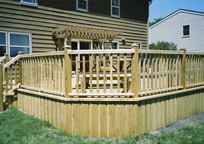 Northbrook - Cedar Deck
