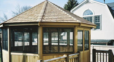 Rustic Woodmen Gazebo - Brookfield IL