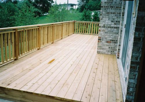 Cedar Deck Builders in Chicago