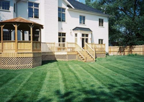 Cedar Deck Builders in Glenview