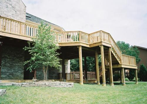 Cedar Deck Builders in Niles