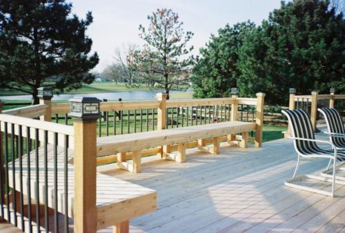 Custom Built Red Cedar Decks in Mount Prospect